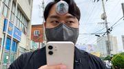 L'invention d'un Coréen: un troisième œil pour éviter un accident aux accros du smartphone