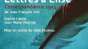"""Jean-François Viot : """"Lettres à Élise"""""""