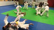 Toma Nikiforov s'est mêlé aux judoka en herbe