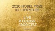 L'annonce du prix Nobel de Littérature 2020en replay