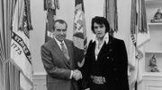 Quels étaient les liens entre Elvis Presley et le Président Nixon?