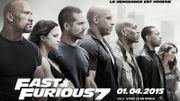 """""""Fast & Furious 7"""" écrase le box-office nord-américain"""
