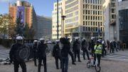 Nouvelle manifestation des gilets jaunes à Bruxelles
