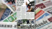 Les secrets de la police pour vous coincer sont dans la revue de presse!