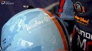 """Un nouveau casque avant une nouvelle mallette pour le """"businessman"""" Nicolas Gilsoul"""