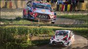 Tanak et Toyota signent le triplé en Allemagne, Neuville, quatrième, se console avec la Power Stage