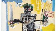 """Un tableau de Basquiat """"Warrior"""" établit un nouveau record en Asie"""