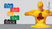 """Ouverture de l'exposition """"The art of the brick"""" à la Bourse de Bruxelles"""