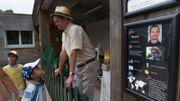 Un artiste s'installe dans un enclos au zoo de Besançon