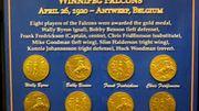 Les médailles d'or gagnées par le Canada