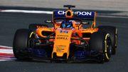 McLaren dévoile la MCL33 que piloteront Fernando Alonso et Stoffel Vandoorne