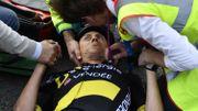 Terpstra chute lourdement sur le Tour des Flandres, abandonne et renonce à Paris-Roubaix