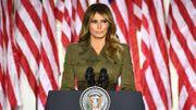 Melania Trump s'exprime lors de la convention républicaine à Charlotte