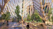 L'architecte belgo-parisien Vincent Callebaut propose son projet pour Notre-Dame