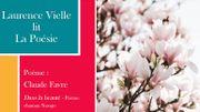 """Laurence Vielle lit """"Dans la beauté"""", un chant chaman Navajo, remanié par la poétesse Claude Favre"""