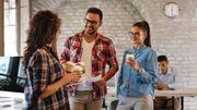 36 % des Belges passent leur pause-déjeuner devant un écran
