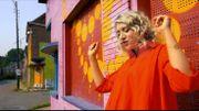 Ann et son clip coloré tourné à Doel