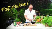 """Recette """"Fait Maison! Barbecue"""": Pain naan maison et sa sauce yaourt"""