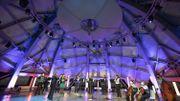 L'Atomium résonne de musique classique pour la Fête de l'Iris