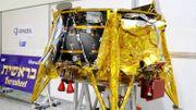 La première sonde israélienne s'écrase en se posant sur la Lune