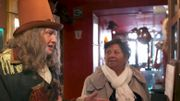 Mamy Nicole prend peur au Musée d'Art Fantastique