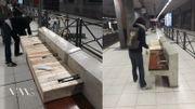 "Bruxelles: le collectif ""Design for everyone"" adapte le mobilier urbain ""anti-SDF"""