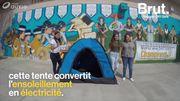 Des adolescentes américaines ont mis au point une tente solaire pour les sans-abri