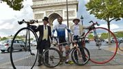 Il fait le tour du monde à vélo en 78 jours!