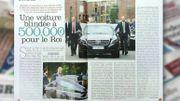 Découvrez la nouvelle voiture du Roi Philippe dans la revue de presse!
