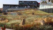 Une autre zone du futur Musée de l'Ephémère