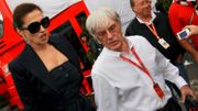 Bernie Ecclestone et Slavica Radić en 2008
