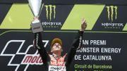 Fabio Quartararo vainqueur en Catalogne, sa première victoire en Moto2