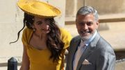 George Clooney au mariage du prince Harry