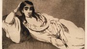 Edouard Manet, L'odalisque, France, Aquatinte/Eau-Forte, 1868-1871. Fonds S. Lenoir