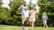 Pour que vos enfants restent en forme, pratiquez le sport en famille!