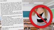 Une école interdit les décolletés et les blouses courtes: qu'en pensez-vous?