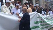 """La """"marche des musulmans contre le terrorisme"""""""