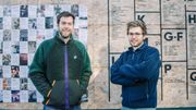 Arthur Peemans (gauche) et Olivier Potvin (droite), fondateurs de Superzero