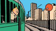 La première exposition temporaire au Train World à Schaerbeek consacrée à Hergé