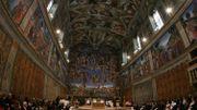 Les fresques de la voûte de la Chapelle Sixtine reconstituées en photo à Montréal