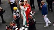 Respect et fair-play : Vettel félicite Hamilton et se rend dans le box Mercedes