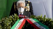 Le président Mattarella au cours de la fête nationale italienne ce mardi.