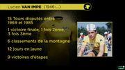 Ces Belges qui ont porté le maillot jaune: Lucien Van Impe
