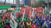 Succès mitigé pour la manifestation contre la réforme des pensions