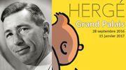 Vaste exposition dédiée à Hergé aux Galeries Nationales du Grand Palais à Paris