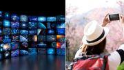 L'abonnement TV par internet devient une réalité & réduire considérablement ses frais de roaming en est une autre !