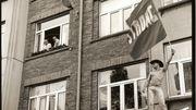 Première Pride belge en 1990 à Anvers.