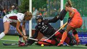 Les Red Panthers battues avec les honneurs face aux Pays-Bas