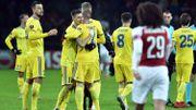 Arsenal, piégé à Borisov, devra se reprendre à l'Emirates