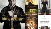 Le Roi Arthur, Jessica Chastain à l'honneur et l'équipe du film Django